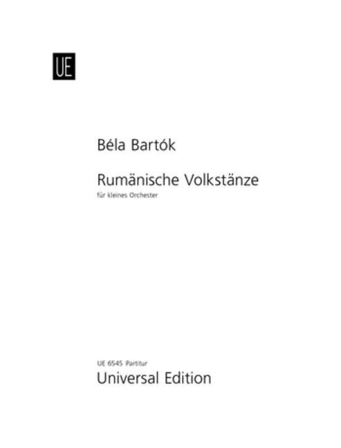 BARTOK-RUMANIAN-FOLK-DANCES-Score-Bartok-Bela-score-for-small-orchestra-97900
